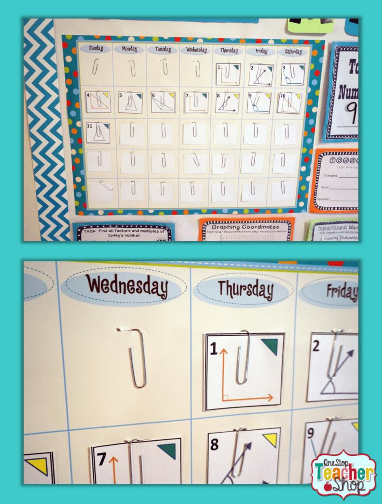 hight resolution of Calendar Math in the Classroom   One Stop Teacher Shop