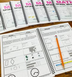 Math Spiral Review \u0026 Quizzes   Homework or Morning Work [ 1024 x 1024 Pixel ]
