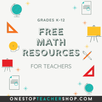 FREE Math Resources for Teachers