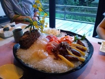 Appetizer at Yangmingshan restaurant