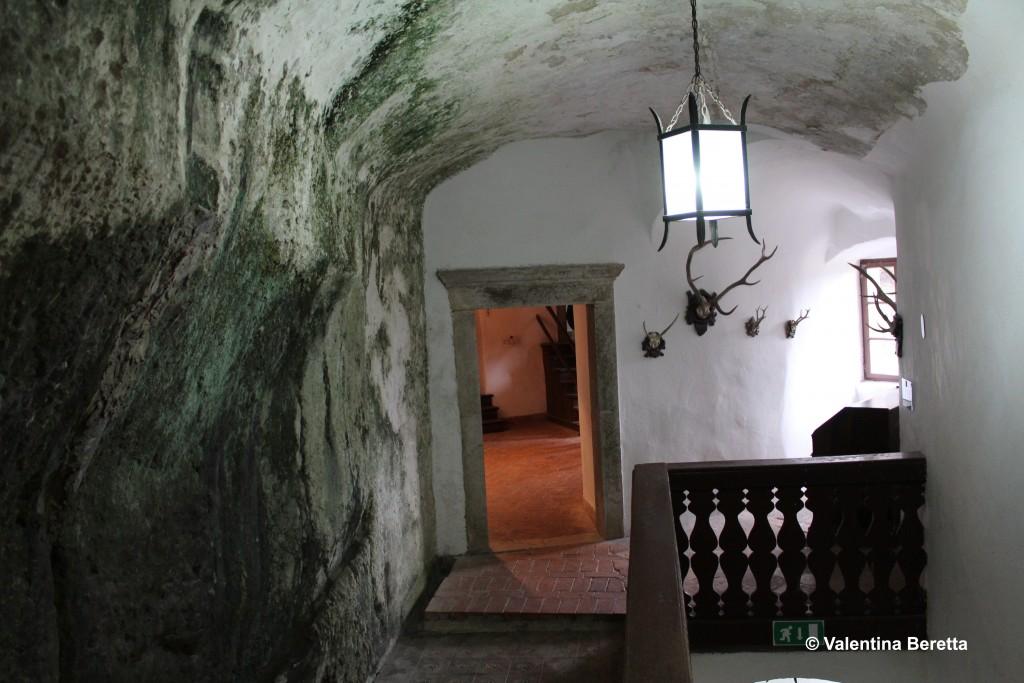 castello Predjama interno