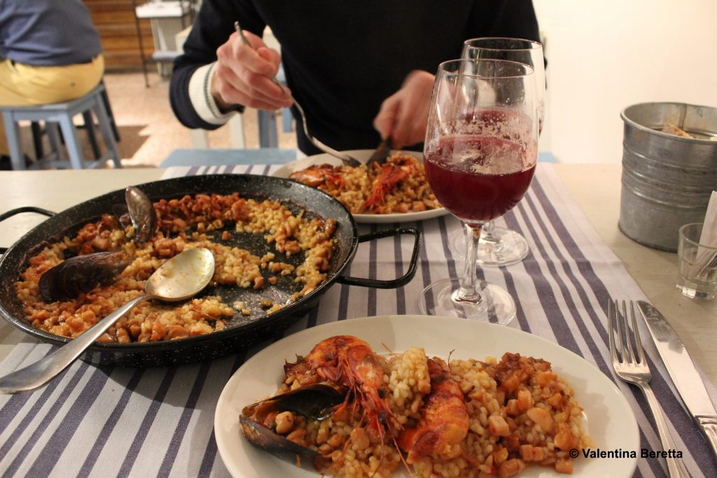 piatti tipici spagnoli paella el machi