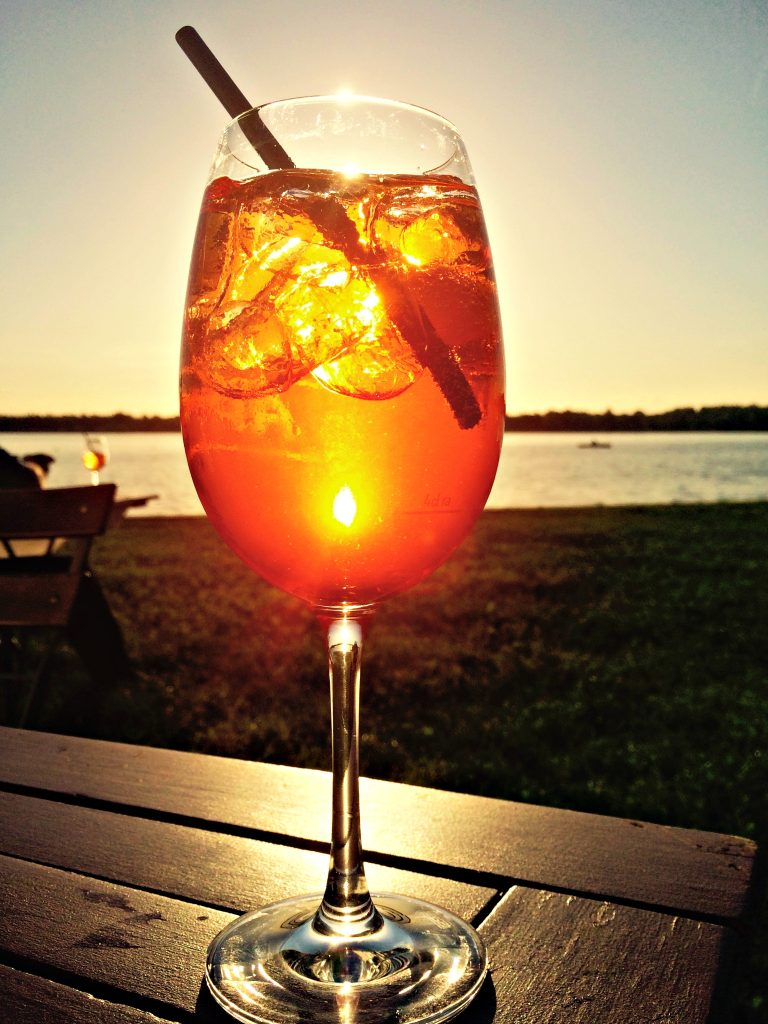 spritz the lake