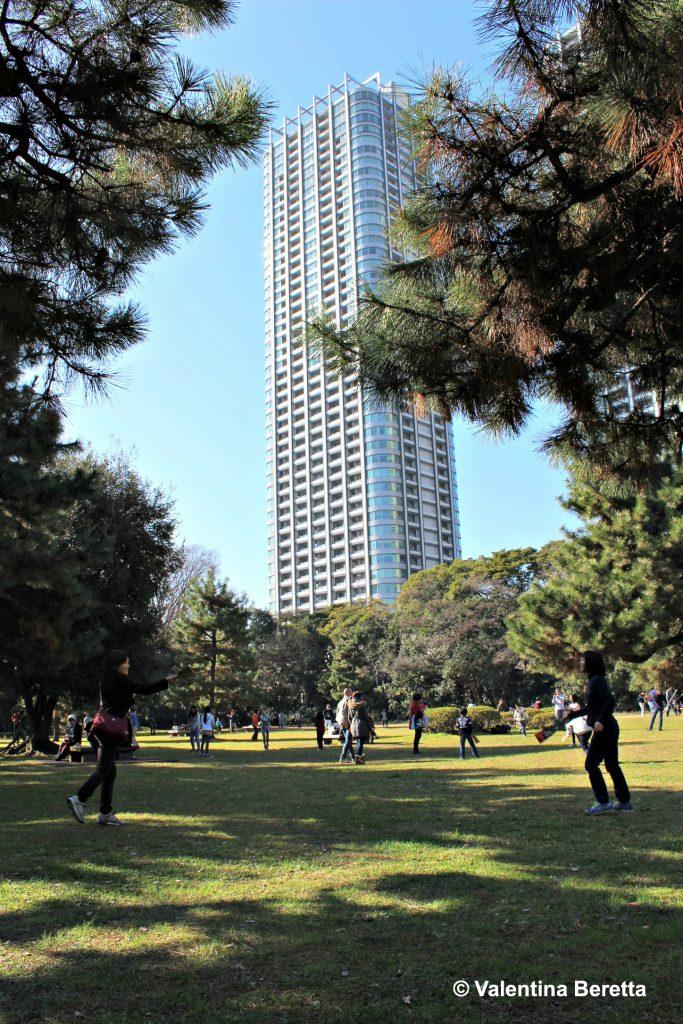 grattacieli Hamarikyu Onshi Teien
