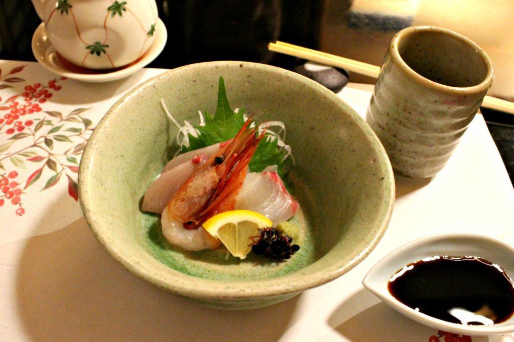 pesce cucina kaiseki