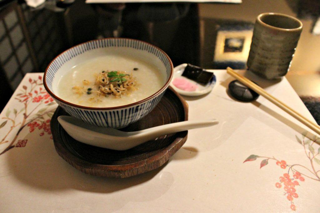 porridge cucina kaiseki