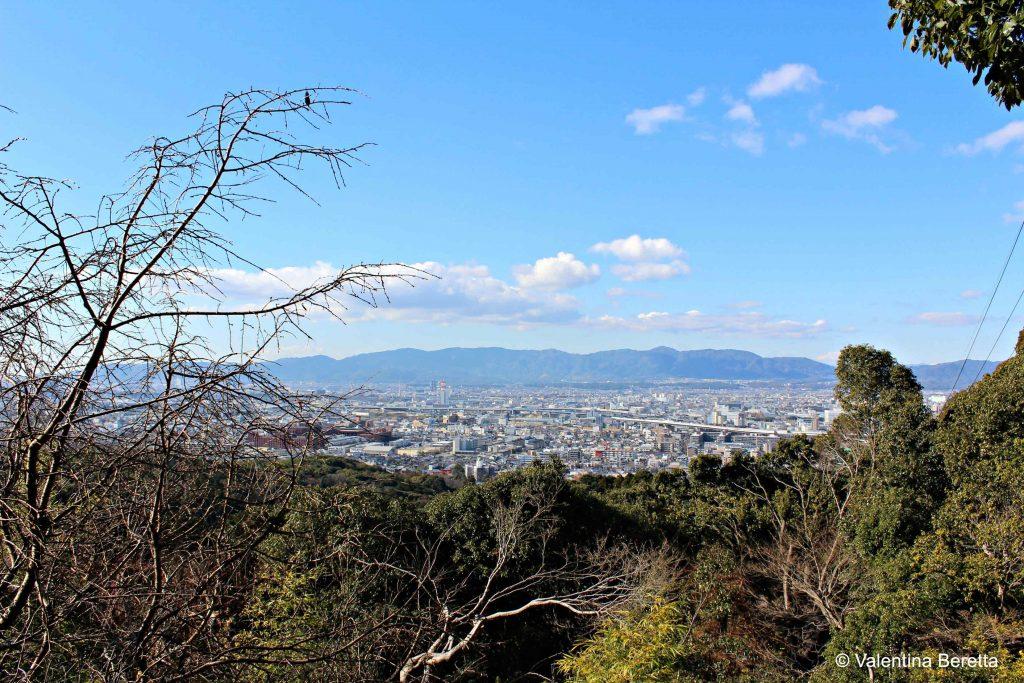 panoramica fushimi inari