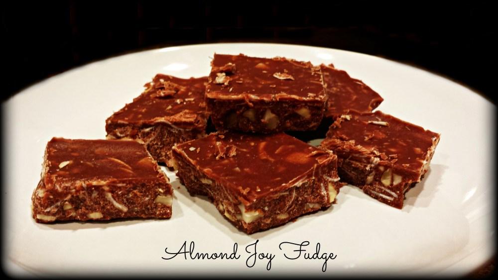 THM Friendly: Almond Joy Fudge (1/4)