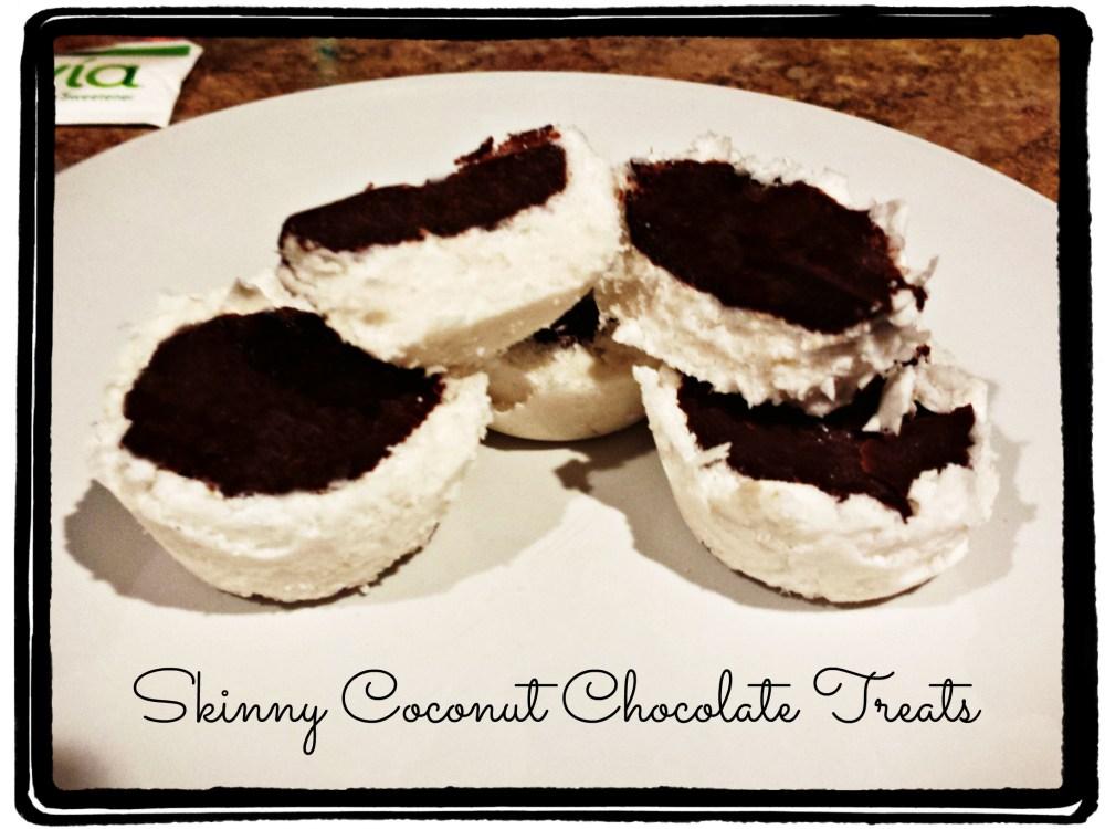 THM Friendly: Skinny Coconut Chocolate Treats {S} (1/2)