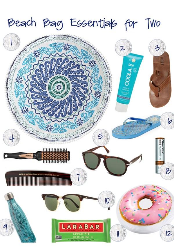 Beach Bag Essentials for Two