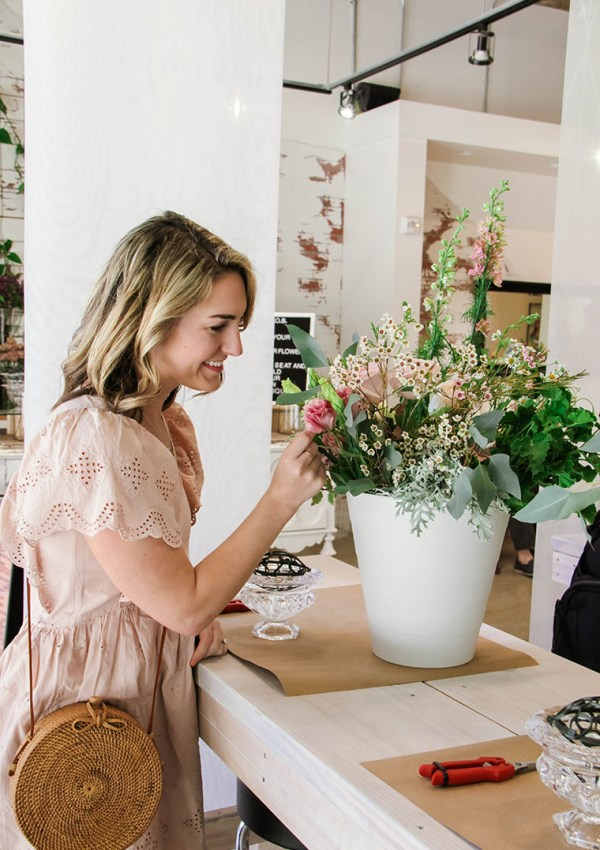 How To Create A Whimsical Floral Arrangement
