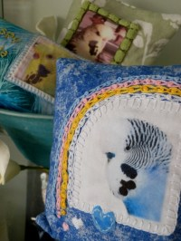 Remembering Thomas: Pillow complete | Puddings & Toyboys