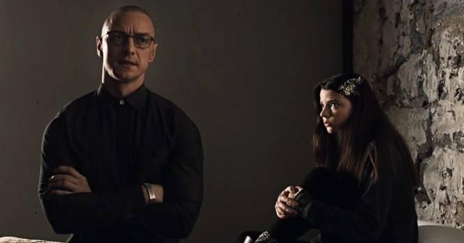James McAvoy and Anya Taylor-Joy in Split. Image via nerdist.com | DVD Review | onetakekate.com