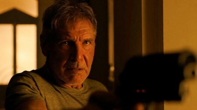 Harrison Ford stars in Blade Runner 2049. Image via The Hollywood Reporter | Blade Runner 2049 movie review | onetakekate.com