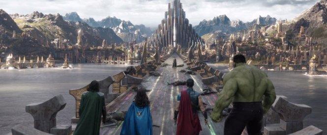The beauty of Asgard in Thor Ragnarok   Thor Ragnarok movie review   onetakekate.com