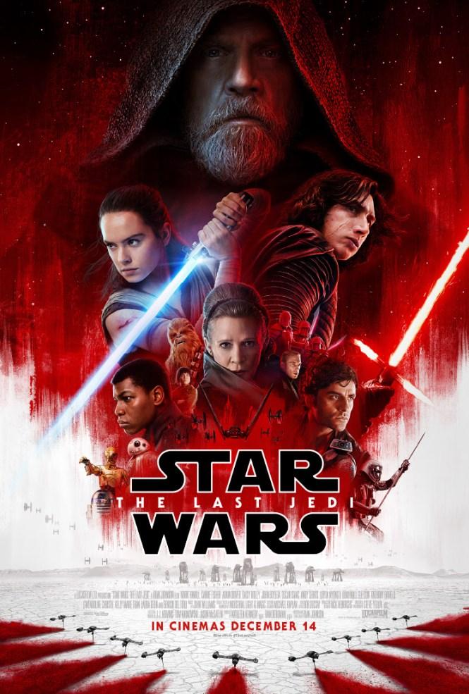 STAR WARS: THE LAST JEDI Official Trailer. Image via Walt Disney Studios AUNZ | onetakekate.com