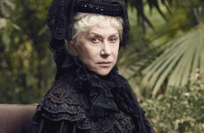 Helen Mirren in Winchester. Image via Movie Web | onetakekate.com