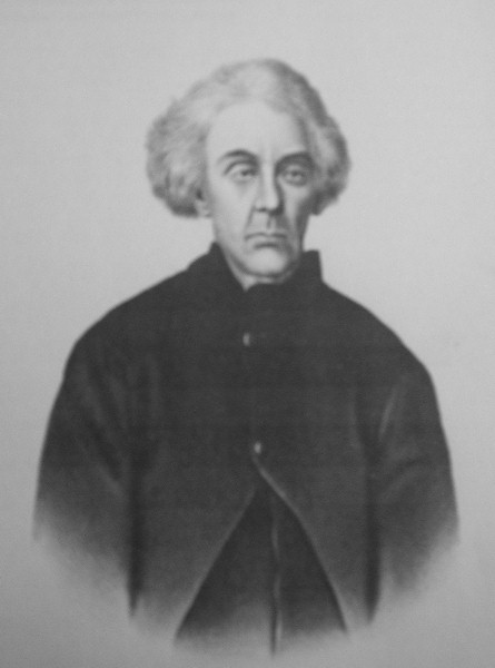 Portrait of John Gray in his later years in Ohio