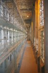 "Cellblock in old Mansfield Reformatory used in movie ""Shawshank Redemption"""