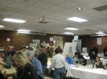 Part of crowd at Buckeye Book Fair in Wooster