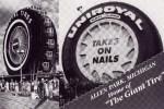 Early postcard of Big Tire as a Ferris Wheel at 1964 World's Fair