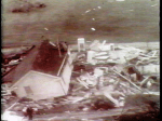 A home demolished in the Pittsfield Tornado April 11, 1965