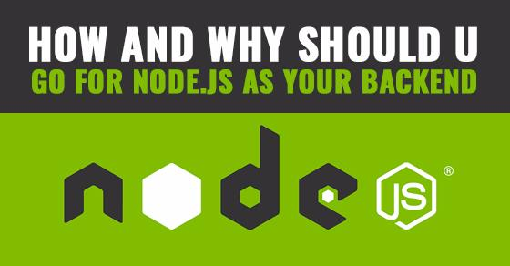 Node.js As Backend