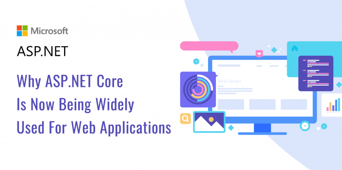 ASP.NET core for developing web applications.