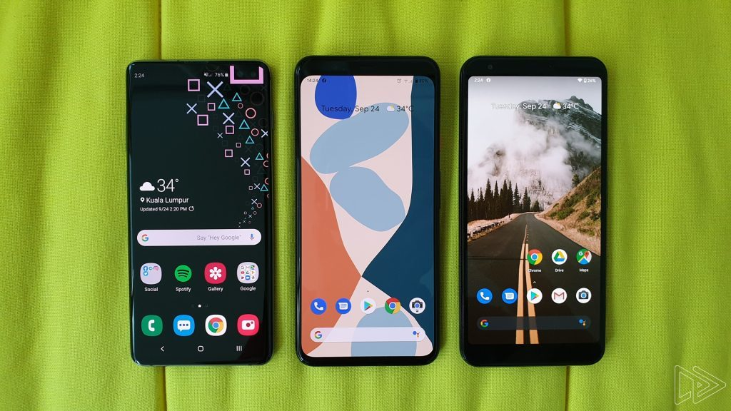 Pixel 4 is going to pack some nice live wallpapers ...