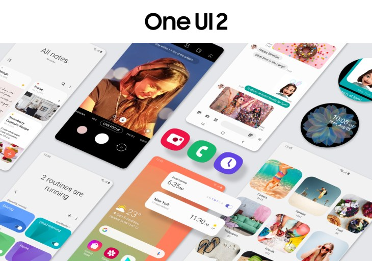 Note 10 One UI 2, Samsung Android 10