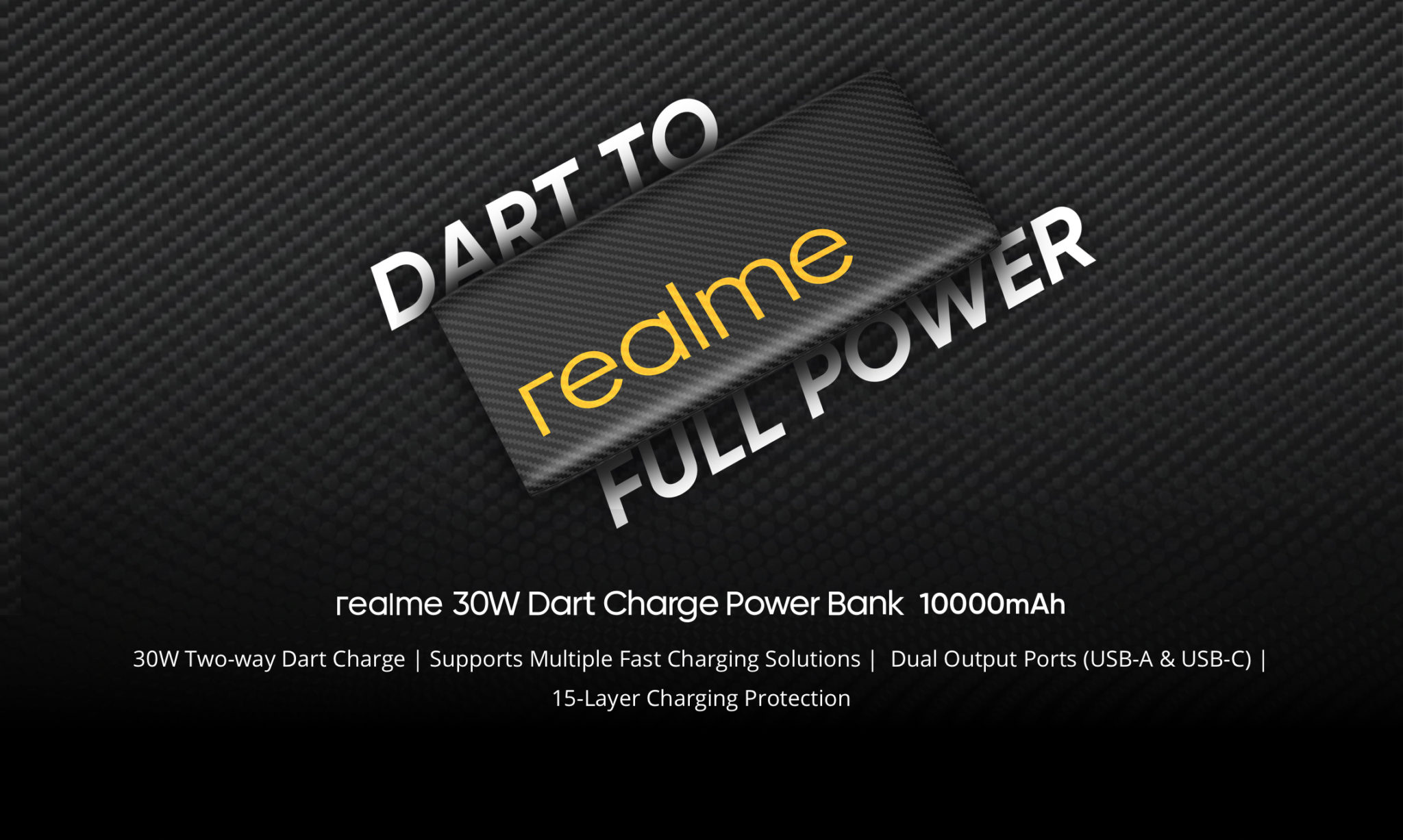 realme 30W Dart Charge 10000mAh Power Bank