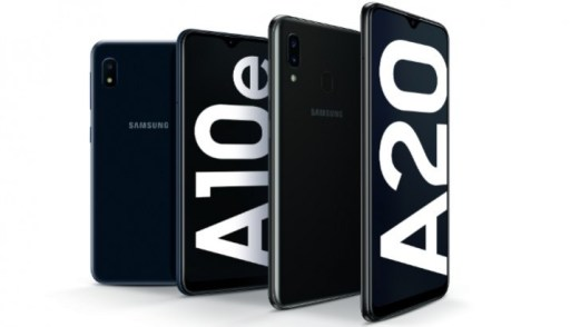 samsung galaxy a10e and a20