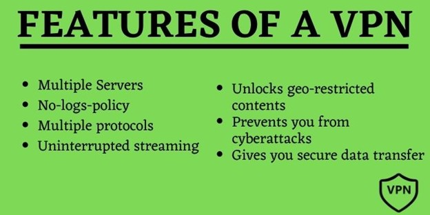 Features of a VPN