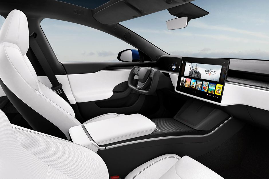 Tesla Model S Plaid Interiors 2