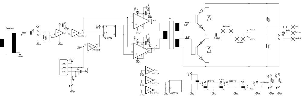 medium resolution of onetesla schematic 110v version tesla coil plans