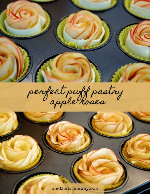 perfect puff pastry apple roses