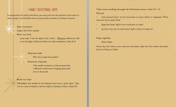 Advent Devotional Screenshop #unwrappingJesus