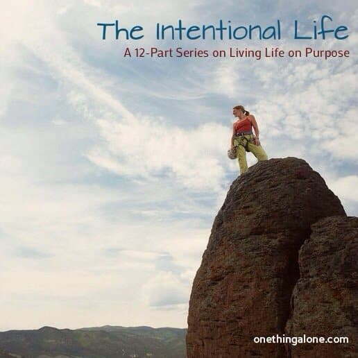 The Intentional Life Series