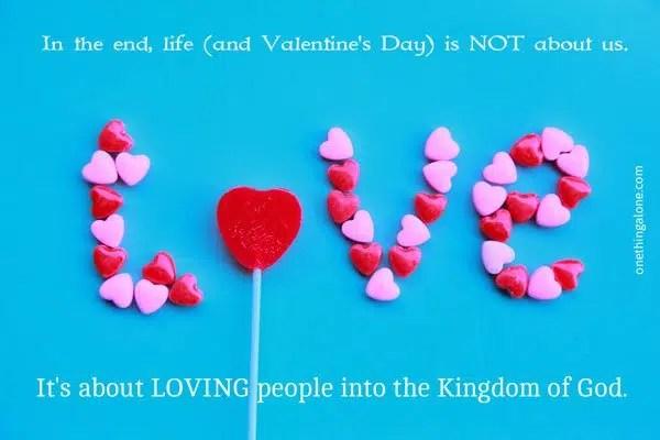 valentine's day challenge | love people
