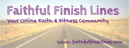 If you're looking for encouragement and accountability in your journey toward healthy living, Faithful Finish Lines is exactly what you need!