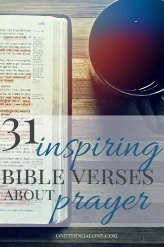 31 Bible Verses to strengthen your prayer life
