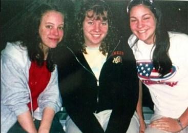 Awkward high school photo
