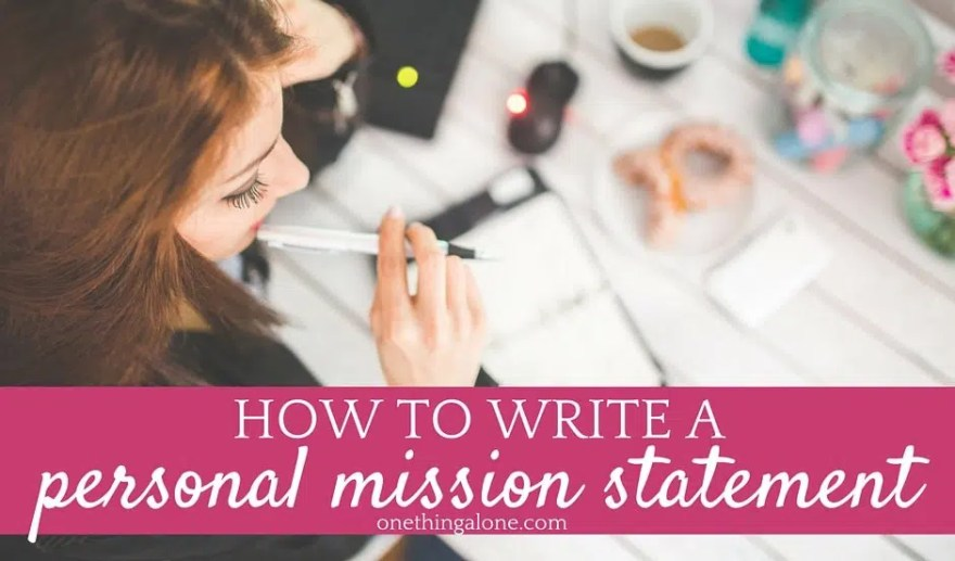 How can i write a personal statement