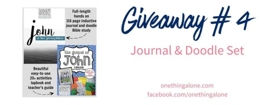 Giveaway 4 journal doodle