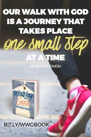 Our walk with God is a journey that takes place one small step at a time, and it's beautiful precisely in its ordinariness.