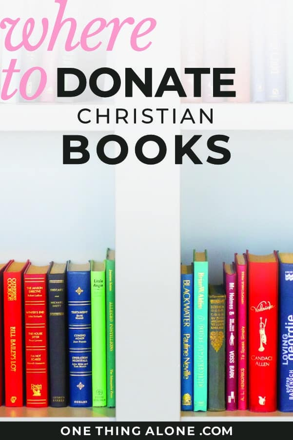 Where to Donate Used Christian Books--5 Places to Start
