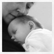 Mummy snuggles