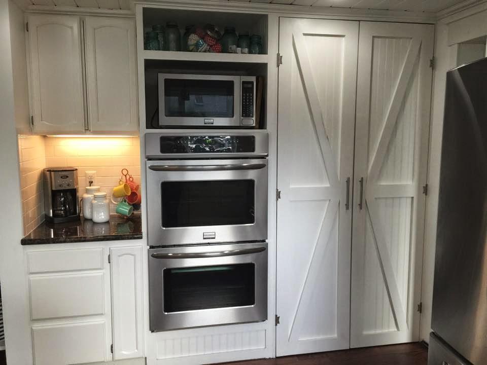 DIY Barn Style Pantry Doors