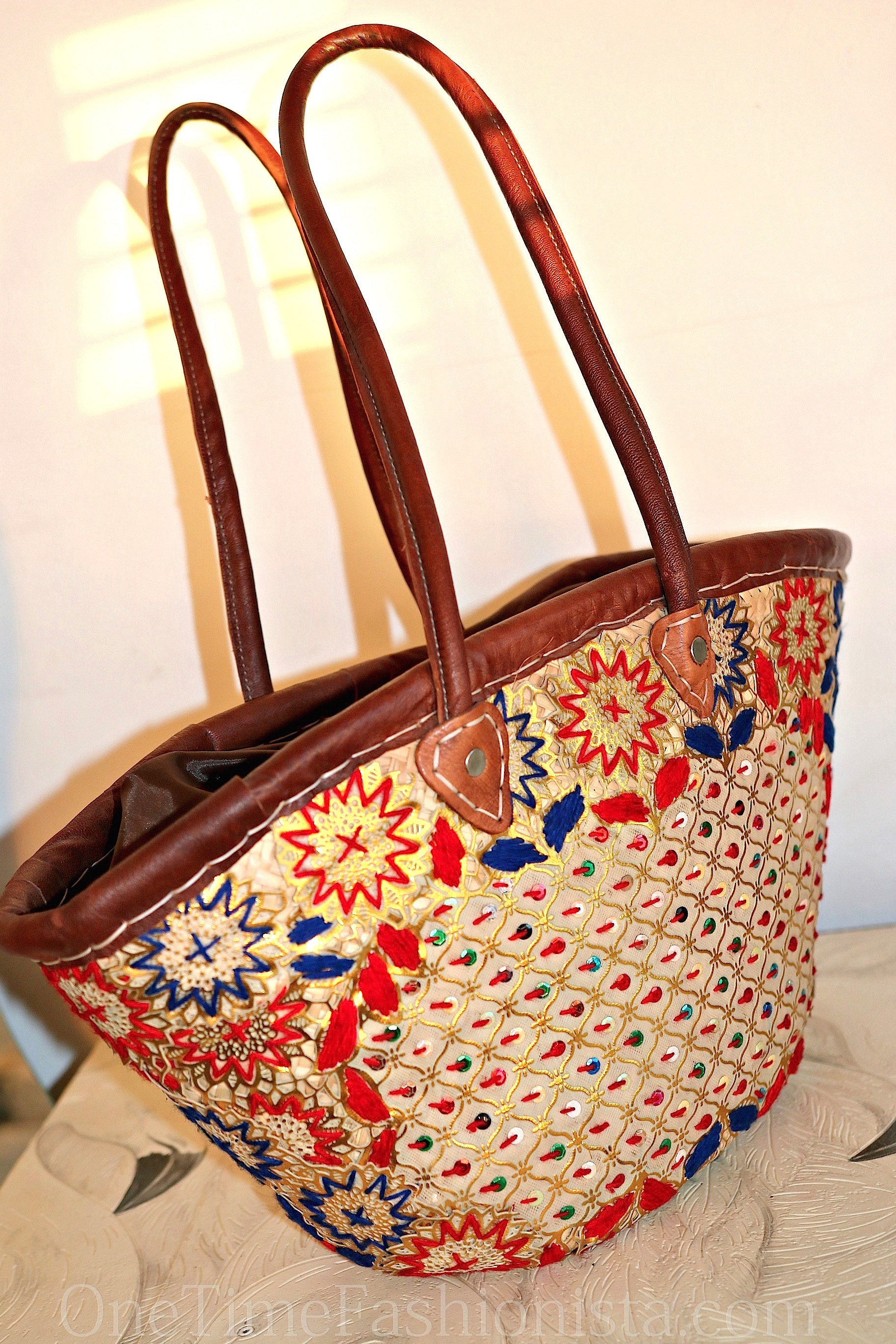 Shopping in Morocco Babouches and Beach Straw Totes