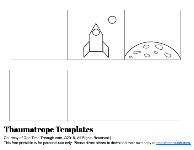 photo regarding Thaumatrope Printable identify √ Thaumatrope Templates Absolutely free Thaumatrope Template